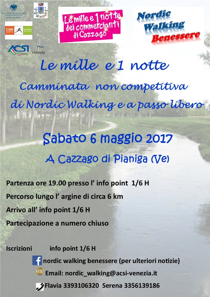 lLe Mille e 1 Notte Nord Walking
