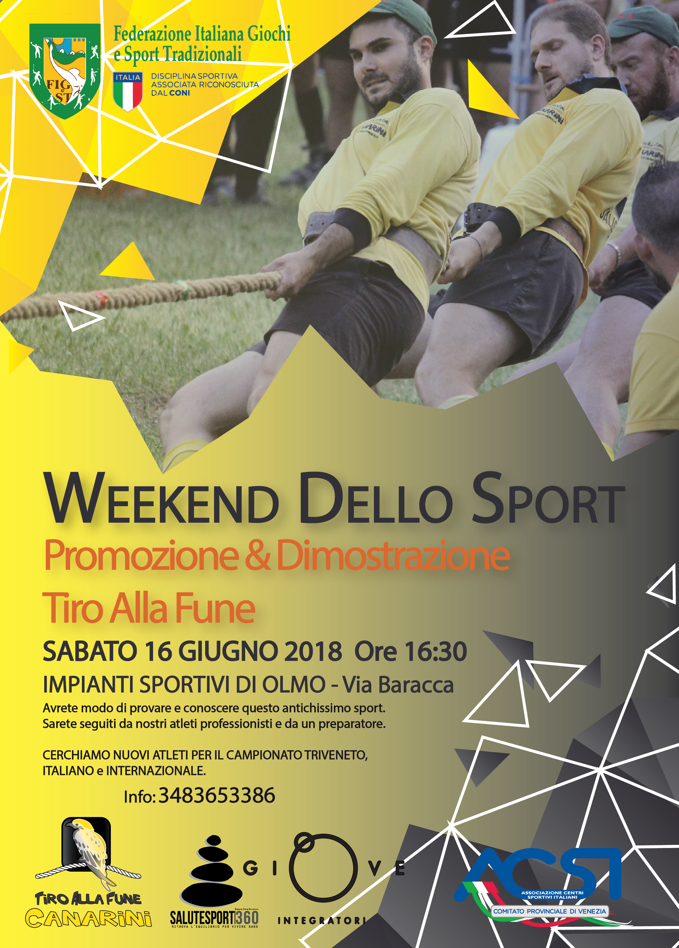 week end dello sport Tiro alla fune