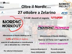 nordic walking zelarino
