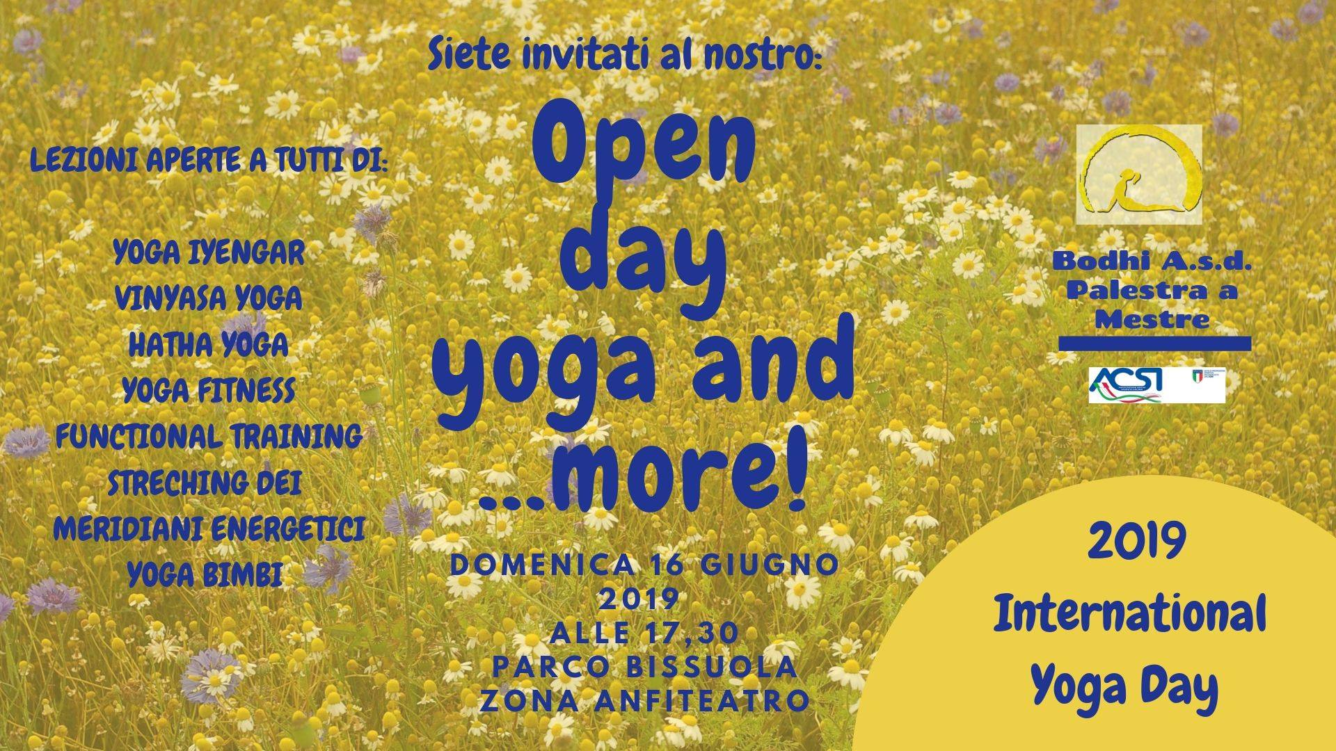 Open Day Yoga and more!